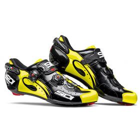 Sidi Wire Carbon - Chaussures Homme - jaune/noir